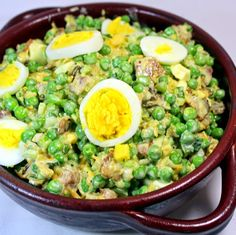 Inspired By eRecipeCards: Pea and Bacon Salad - OLD SCHOOL Side Dish - Church PotLuck Cold Salad