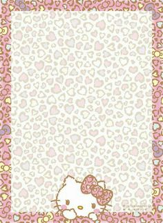 Hello Kitty Imagenes, Doodle Art Designs, Hello Kitty Pictures, Hello Kitty Items, Hello Kitty Collection, Halloween Wallpaper, Hello Kitty Wallpaper, Note Paper, Writing Paper