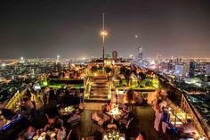 Top 10 Rooftop Bars in Bangkok: Die genialsten Skybars Sky Bar Bangkok, Hotels In Bangkok, Rooftop Bar Bangkok, Best Rooftop Bars, Rooftop Pool, Beste Hotels, Marriott Hotels, City Of Angels, Cafes
