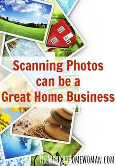 Want to make money scanning photos? Here are some tips on getting started including the initial investment, income potential, and resources to help! via The Work at Home Woman business ideas #smallbusiness small business ideas wahm ideas