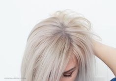 How to get yellow out of blonde hair