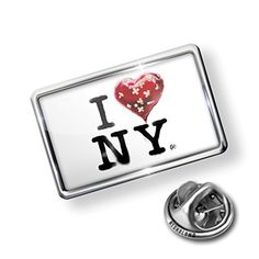 Pin Banksy Balloon New York - Lapel Badge - NEONBLOND by NEONBLOND -- Awesome products selected by Anna Churchill