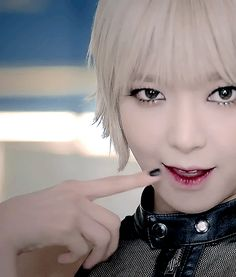 AOA's Choa - Like a Cat mv makeup