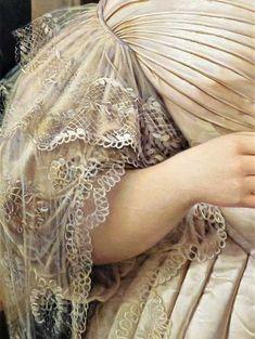 Art, details, veils, sensuality and naivety! Renaissance Kunst, Renaissance Paintings, Classic Paintings, Old Paintings, Historical Costume, Historical Clothing, Fashion History, Fashion Art, Moda Retro