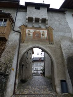 Belluard en Gruyeres, Suiza