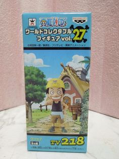 New One Piece World Collectable WCF TV 218 Usopp Figure from Japan