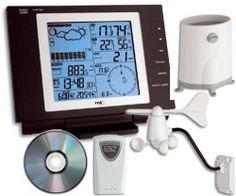 Digital Alarm Clock, Cool Things To Buy, Bathroom, Cleaning, Weather, Black, Cool Stuff To Buy, Washroom, Full Bath