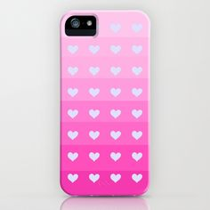 Ombre Love in Hot Orchid iPhone & iPod Case by Lisa Argyropoulos - $35.00