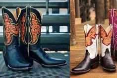 Skiver Boots are a yes, please! Take a look at how gorgeous these boots are! Alexis Kimzey will be rocking these beauties!