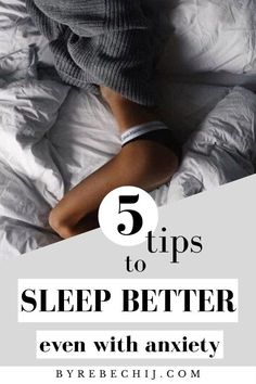 A good night's rest is essential for your body and mind. Here's a 5 nighttime tips for sleeping better even when you have anxiety and insomnia. How To Sleep Better At Night? Sleep Better Tips, Eat Better, How To Become Happy, Are You Happy, Wellness Quotes, Wellness Tips, Sleep Remedies, Night Routine, Sleeping Dogs