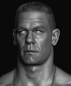 ArtStation - John Cena done for WWE, Hossein Diba