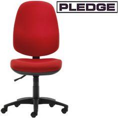 Pledge Topaz High Back Operator Chair  www.officefurnitureonline.co.uk