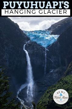 Visit the hanging glacier in Queulat National Park in Chilean Patagonia. Here are all the insider tips, how to get there, and how to get it to yourself! Unreal.