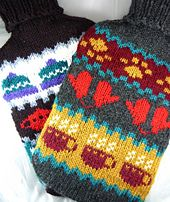 hot water bottle cover free pattern