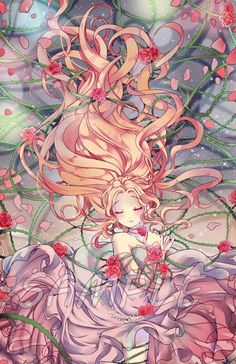 - Sleeping Beauty by Ayasal on DeviantArt Sleeping Beauty, Sleep Beautiful, Anime Intense Art, Arts Manga Anime, Anime Yugioh, Anime Body, Anime Pokemon, Art Manga, Manga Drawing, Manga Girl, Anime Chibi, Anime Eyes