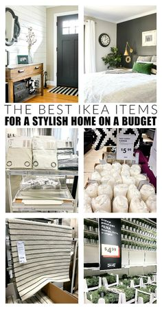 Are you a fan of IKEA? What about IKEA hacks? Today, I'm sharing my favorite IKEA products that you can easily update and hack to create beautiful customized furniture and decor. Home Renovation, Decorating Your Home, Diy Home Decor, Buy Decor, Rental House Decorating, Decorating With Ikea, Decorating Hacks, Home Decor Hacks, New Swedish Design