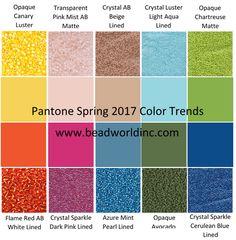 Pantone Spring 2017