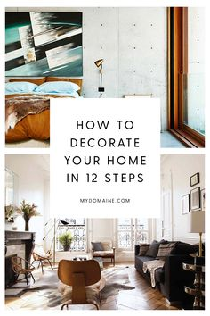 A step-by-step guide to decorating your home from scratch