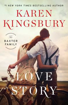 Love Story: A Novel by Karen Kingsbury.From New York Times bestselling author Karen Kingsbury comes a new book featuring everyone's favorite family—the Baxters, which tells the story of how John and Elizabeth first fell in love. Book 1, The Book, Book Title, Book Series, New Books, Books To Read, Karen Kingsbury, Mystery, Complicated Relationship