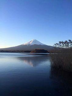 """""""Sakasa"""" Mt. Fuji, Japan"""