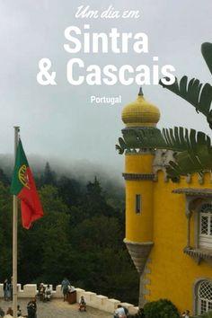 Sintra e Cascais em um bate e volta de Lisboa.  Blog de Viagens: Turistando com a Lu