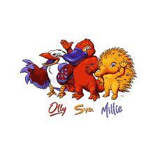 Olympic mascots ..