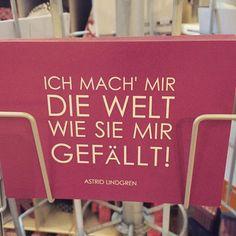 """""""2 x 3 macht 4 - widdewiddewitt und 3 macht 9e ! Ich mach' mir die Welt - widdewidde wie sie mir gefällt... Hey - Pippi Langstrumpf hollahi-hollaho-holla-hopsasa Hey - Pippi Langstrumpf - die macht, was ihr gefällt."""" Astrid Lindgren ❤️ Die Postkarte gibt's bei den Misses.  Solange der Vorrat reicht :) #postkarte #sprüche #postkartenliebe #sprüchekarten #sprüchezitate #schreibmalwieder #astridlindgren #pippilangstrumpf #pippi #berlin #prenzlauerberg #prenzlberg #schweden #schwedenliebe…"""