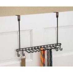 Classico Over the Door Tie and Belt Rack