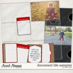 Document Life Sampler freebie from Tracy Reed