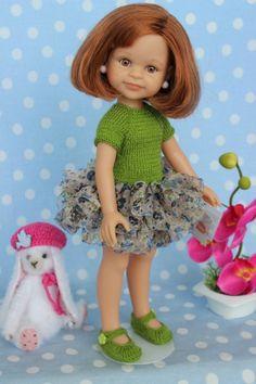 Комплектик ручной работы № 1 / Одежда для кукол / Шопик. Продать купить куклу / Бэйбики. Куклы фото. Одежда для кукол