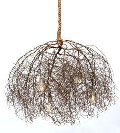 Large Native Tumbleweed Chandelier