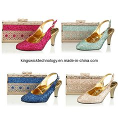 Italian Shoe Designers For Women Designer Pu Shoes And Bags To Match Italy Design With Rhinestone In Pinterest