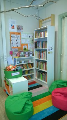 Lukunurkka Teaching Literature, Bookcase, Classroom, Kids Rugs, Shelves, Education, School, Home Decor, Class Room