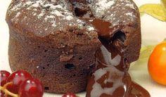 Ingredientes:       3 huevos  1 cucharada de harina  80 gr. de azúcar  150 gr. de chocolate negro intenso para postres  50 gr. de ...