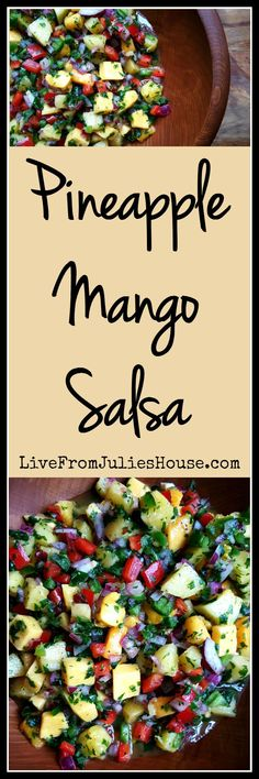 Want to add a fresh and fruity twist to Taco Night? Try my Pineapple Mango Salsa - it's the perfect blend of Southwestern heat and fruity sweetness.