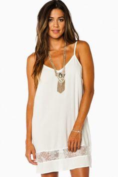 Nella Dress in Off White #whitedress