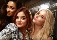 Lucy Hale , Ashley Benson , Shay Mitchell