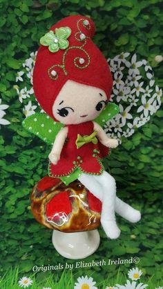 my Basic 8-inch Merino Soft Wool Felt Doll by theStudioGiftShop