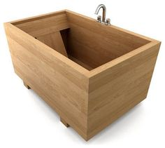 build your own bathtub | Asian Bathtubs design by Other Metro bath-in-wood.com
