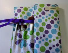 Women Brush Roll Holder, Travel Makeup Organizer, Brush Roll Storage, Cute Brush Roll, Makeup Essentials
