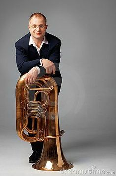 Photo about Portrait of a young tubaist with his instrument. Image of male, people, white - 19177044 Male Senior Pictures, Photography Senior Pictures, Senior Photos, Tuba Pictures, Music Pictures, Senior Guys, Senior Year, Boy Senior Portraits, Teen Poses