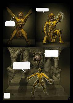 """Comic """"El guardian de Tartessos"""""""
