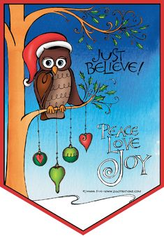 Download the free Zenspirations(R) Christmas coloring page on the Zenspirations - BLOG! Merry Christmas!