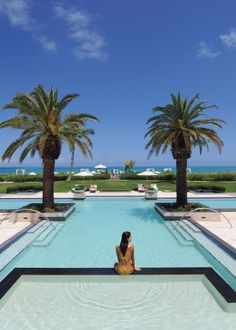 Where to STAY in Turks and Caicos: Grace Bay Club. Courtesy of @Travel + Leisure   #DestinationFabulous