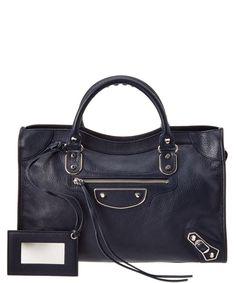 462336c9cef1 BALENCIAGA Balenciaga Classic Silver Metallic Edge City Medium Leather  Shoulder Bag .  balenciaga  bags  shoulder bags  hand bags  lining  leather   metallic ...