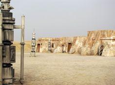 Abandoned Star Wars set