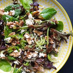 Hmmmm. Already thinking of lunch. And a gorgeous salad. Like this one. @sophies_foodfeast.