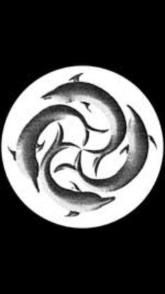 St. Brendan's Cross St Brendan, Spirit Animal, Tribal Tattoos, Sailor, Celtic, Symbols, Christian, Ink, Illustration