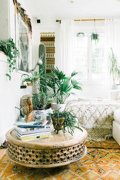 HOME & GARDEN: Ambiance bohème chez Jennifer de FleaMarketFab