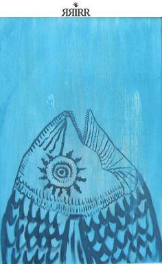PEZ | Pintura en goauche sobre madera | 50x70 | RRiRR Ricardo Gil Turrion